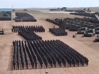 回看丨庆祝中国人民解放军建军90周年阅兵