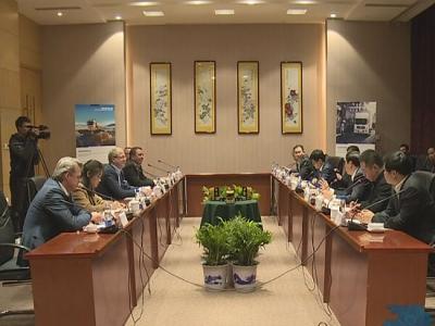 十堰市委市政府 东风公司与沃尔沃集团举行高层会谈