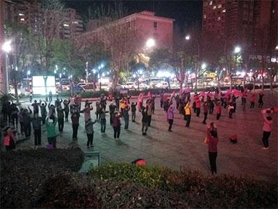 【春】春来早,广场健身舞