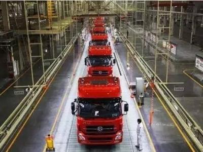 一季度东风商用车销售中重卡4.3万辆 重卡销量同比大增96%