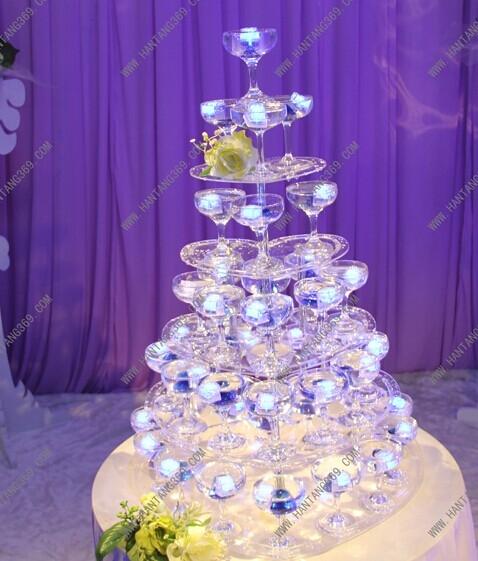 婚礼仪式上香槟塔知识3
