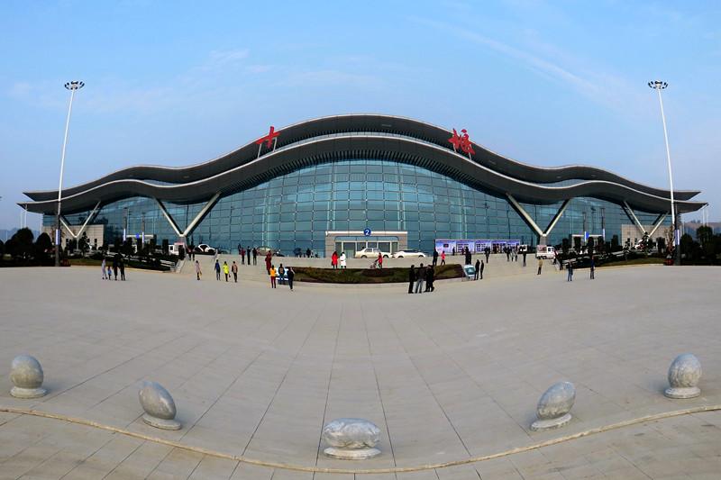 壮观的十堰飞机场
