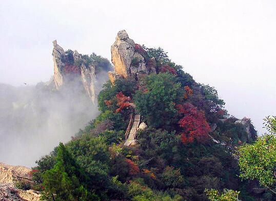 翠华山风景区 陕西知名大好河山