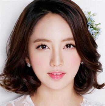 韩式短发新娘发型-十堰广电 短发新娘婚礼造型 女性 爱十堰图片