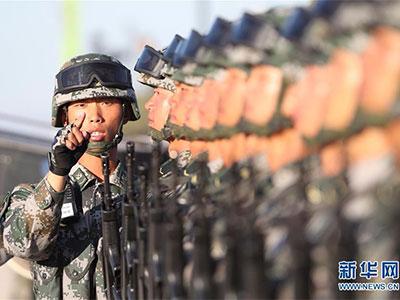 建军90周年阅兵今举行 受阅部队整装待阅